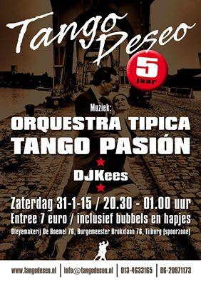 Tango Deso en Orquesta Pasion